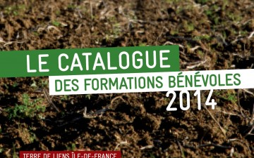 CATALOGUE FORMATIONS BENEVOLES 2014