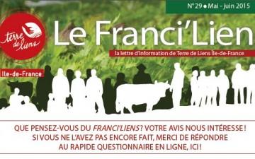 Franci'Liens mai-juin 2015 : SOMMAIRE