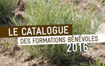 Catalogue de formations bénévoles 2016