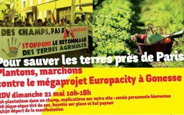 Mobilisation contre le projet Europacity