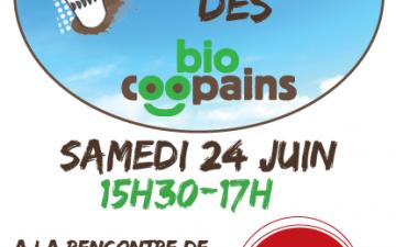 Le café écolo des biocopains le 24 juin prochain