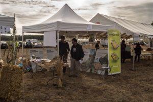 Le stand de 'association Agrof'Île, pour développerl'agroforesterie dans notre Région