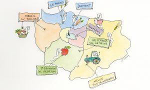Les groupes locaux en Île-de-France